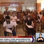 Voter applicants form long lines as Comelec deadline draws near