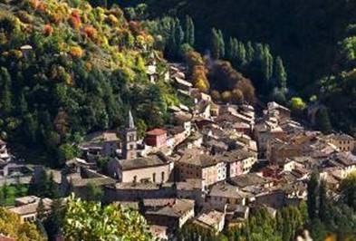 Autunno a Visso (fonte it.worldmapz.com)
