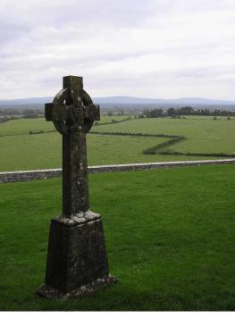Campagna vicino a Clonmacnoise