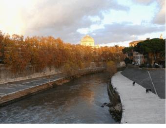 Isola Tiberina, Roma, Italia
