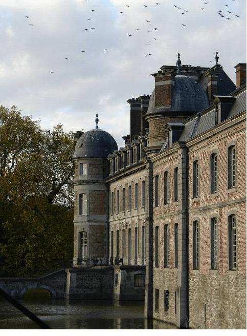 Chateau de Beloeil, Vallonia, Belgio