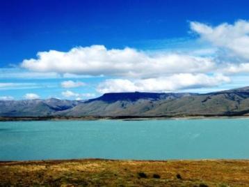 """Il lago Argentino, Parco Naturale """"Los Glaciares"""", provincia di Santa Cruz"""