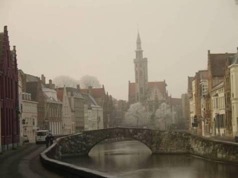 Brugge: l'inverno nelle Fiandre