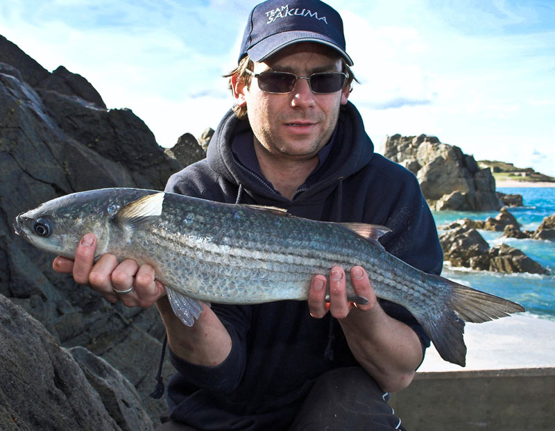 Alex McDonald with an Alderney mullet
