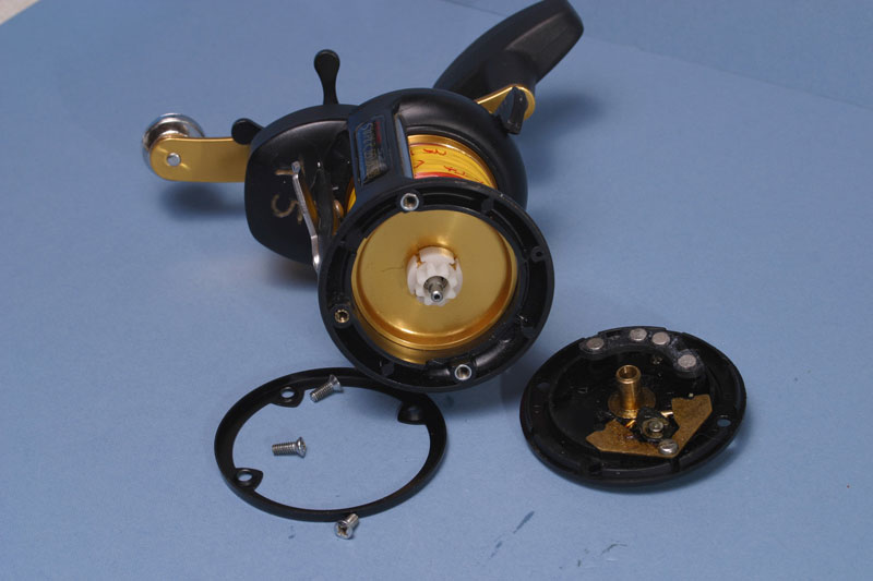 Step - 2 - Penn 525 Super Mag reel tuning guide