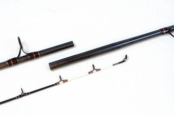 the tip sections of the Abu Conolon Travel Combo rod
