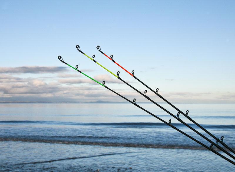 FOX Conqueror Multi Match beach rod three tips