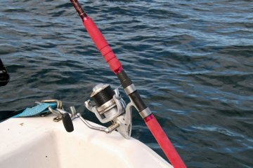 Grauvell Teklon 2400 boat rod handle