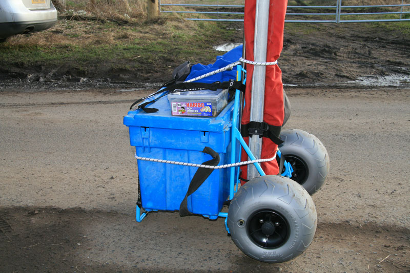 Humpalumpa Big Fishing Trolley loaded