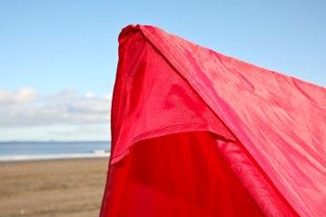 Ian Golds Igloo beach shelter peak