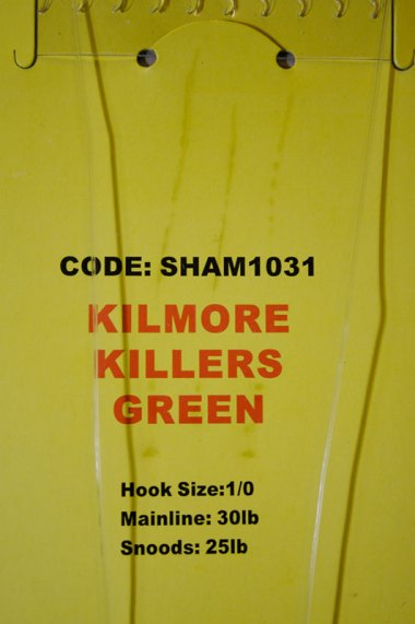 Shamrock Tackle Kilmore Killers - Green label