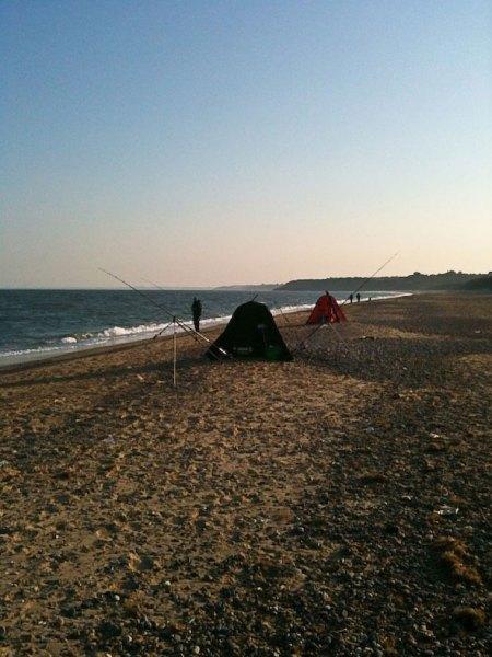 competitors on Kilgorman Beach