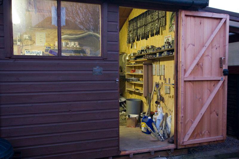 Shaun's shed