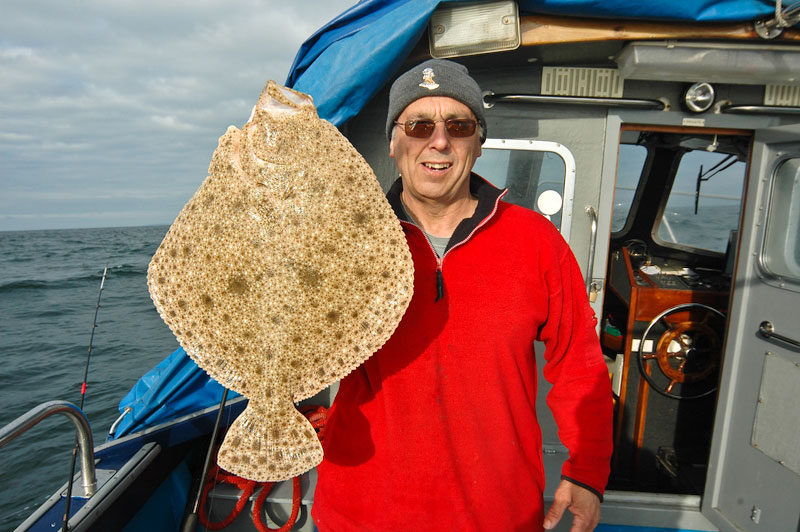 Turbot time in Alderney | Planet Sea Fishing