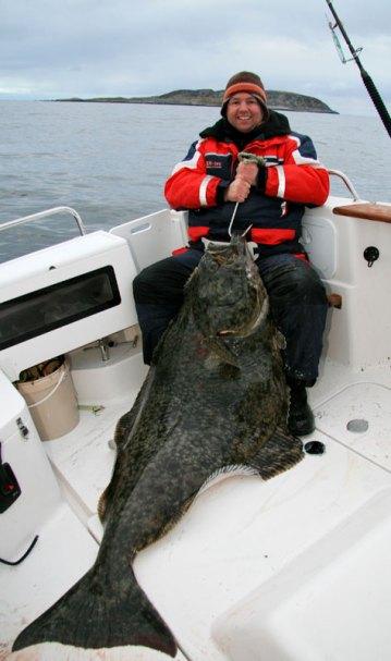 a massive Vannoya halibut