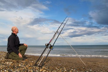 Sea Fishing in Wicklow beach