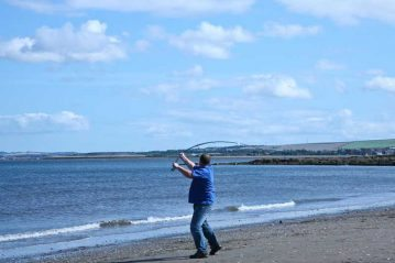 Sea Angling for Beginners - Rod Types casting
