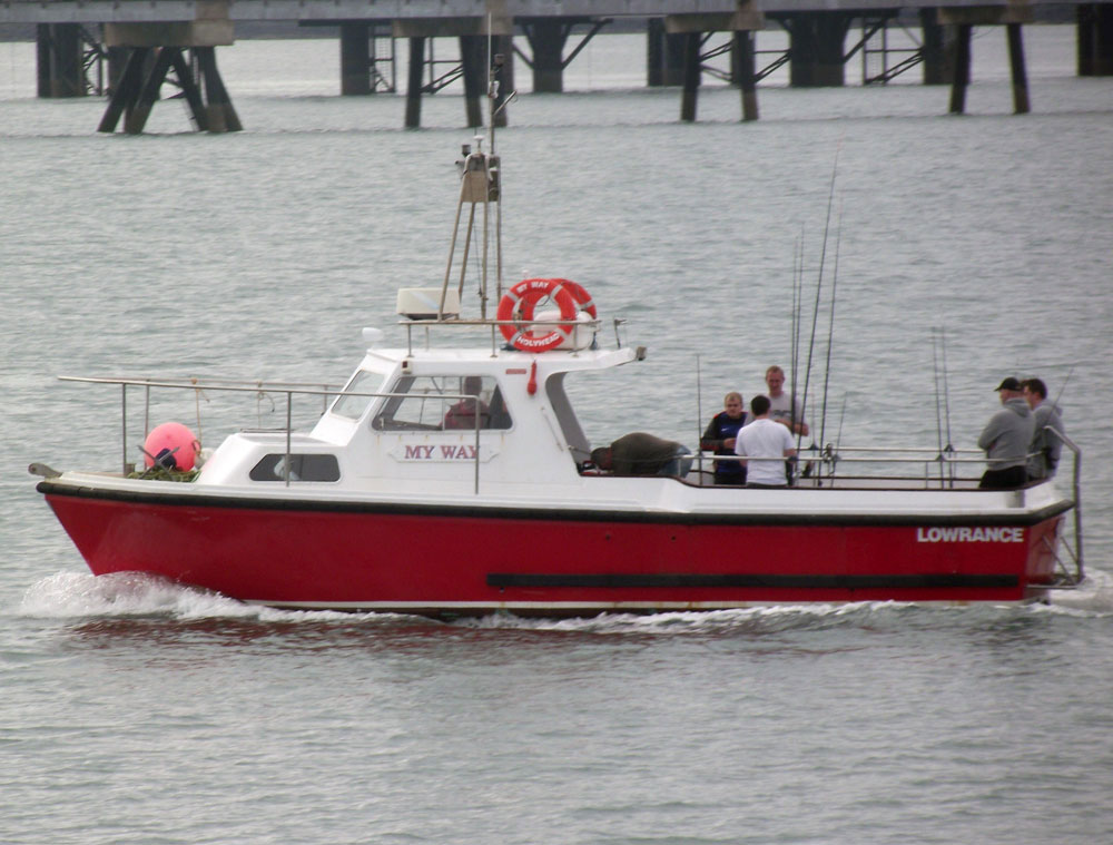 Skegness club boat fishing Holyhead My Way