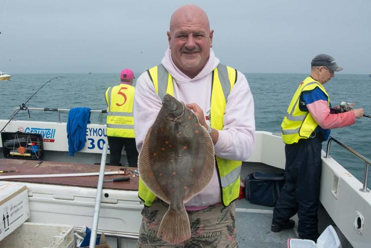 European Boat Championship Weymouth plaice