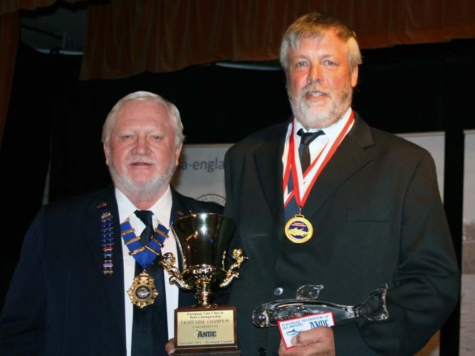 European Boat Championship Weymouth prizegiving