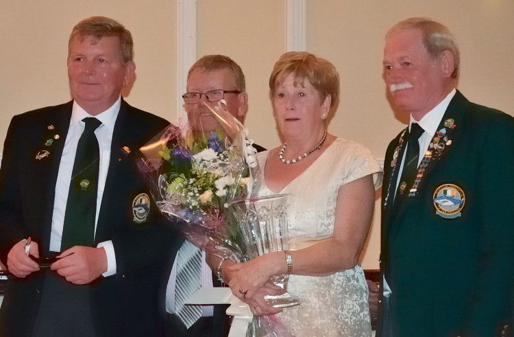 Presentation to Donie & Mary Geary