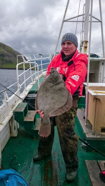 Ally with a good boat caught plaice