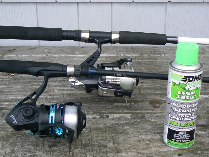 Shakespeare Tiger and Quantum Smoke rods and reels
