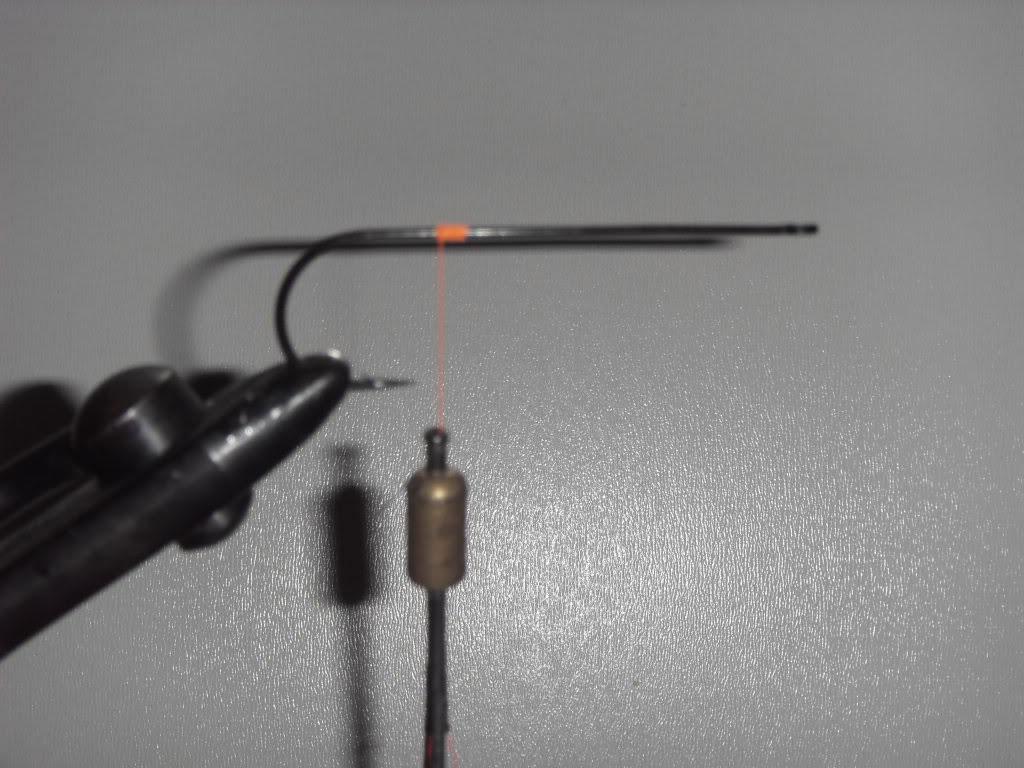 Step 1 - Tying a Bucktail Baitfish lure
