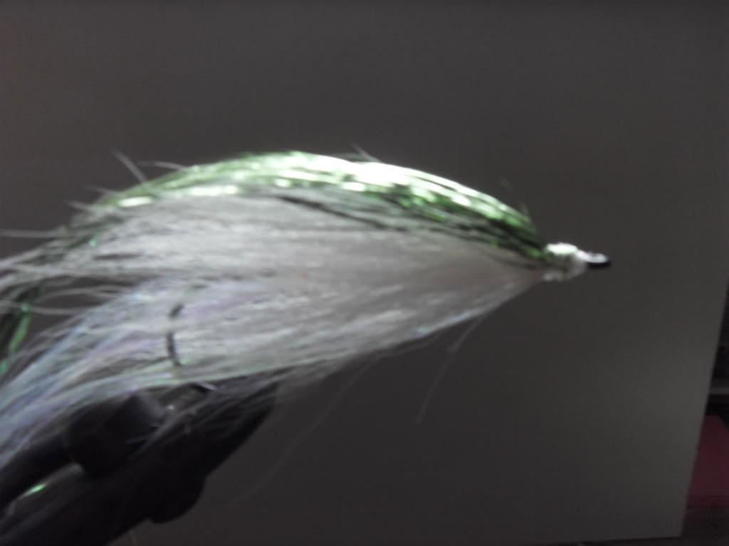 Step 6 - Tying a Bucktail Baitfish lure