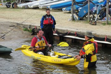 Heroes On The Water kayak instruction