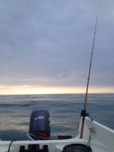 boat fishing Jersey