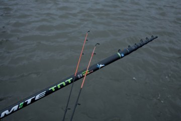 Artico Dinamite TNT boat rods collapsed and tips