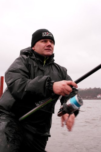 Artico Dinamite TNT boat rods in action