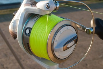 Iridium Stingray Fixed Spool Reel line lay