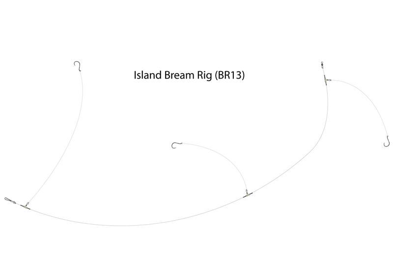 UK Hooks Boat Rigs diagram bream