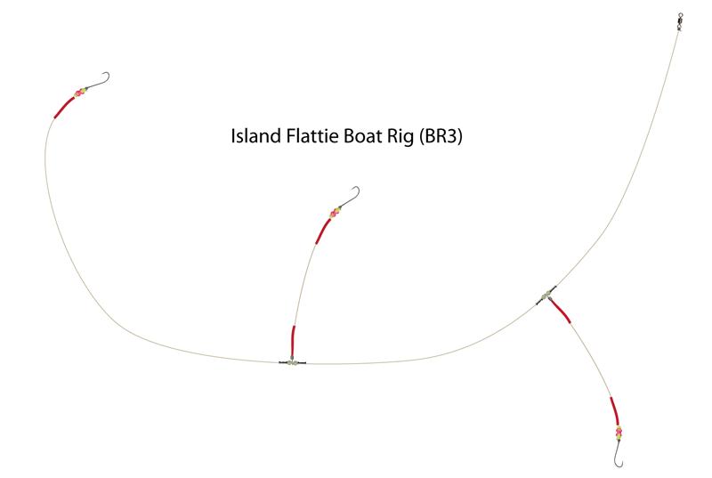 UK Hooks Boat Rigs diagram flattie