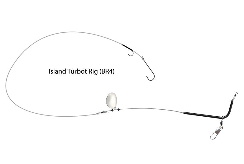 UK Hooks Boat Rigs diagram turbot