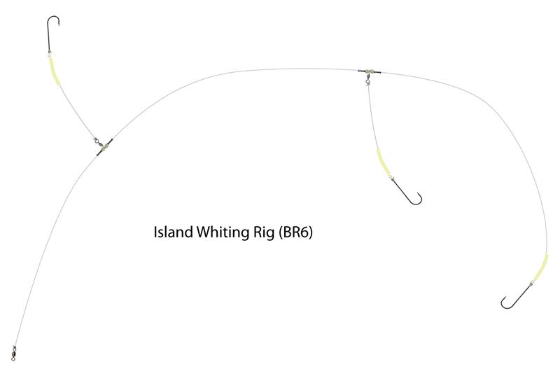 UK Hooks Boat Rigs diagram whiting