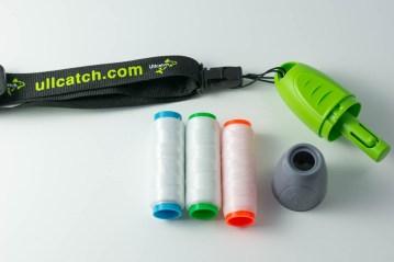Ullcatch Bait Weaver Elastic Dispenser ready for use