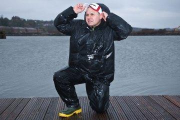 Vass 175 Lightweight Waterproof Smock Bib & Brace EVO Boots