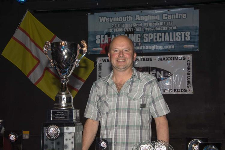 wibac boat fishing weymouth winner Matt Osbourne