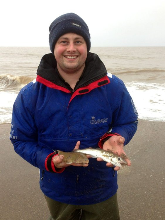 Winner of the Skegness Pier Angling Club A Smith Cup, Dan Jackson