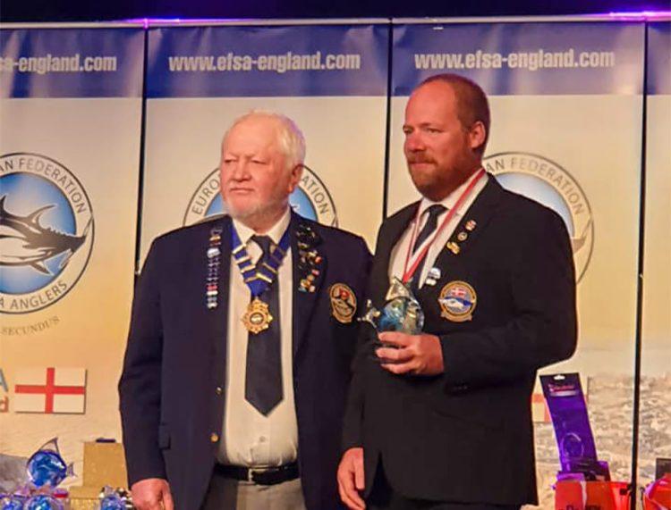 Line Class and Overall Champion Martin Hubert
