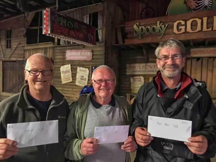 The latest Walton Sea Angling Club match winners