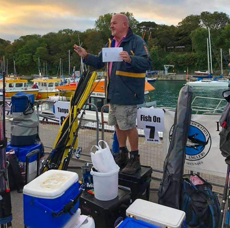 Weymouth Angling Centre owner Andy Selby