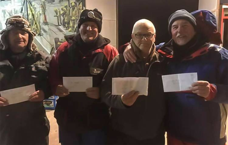 Walton Sea Angling Clubs latest match winners