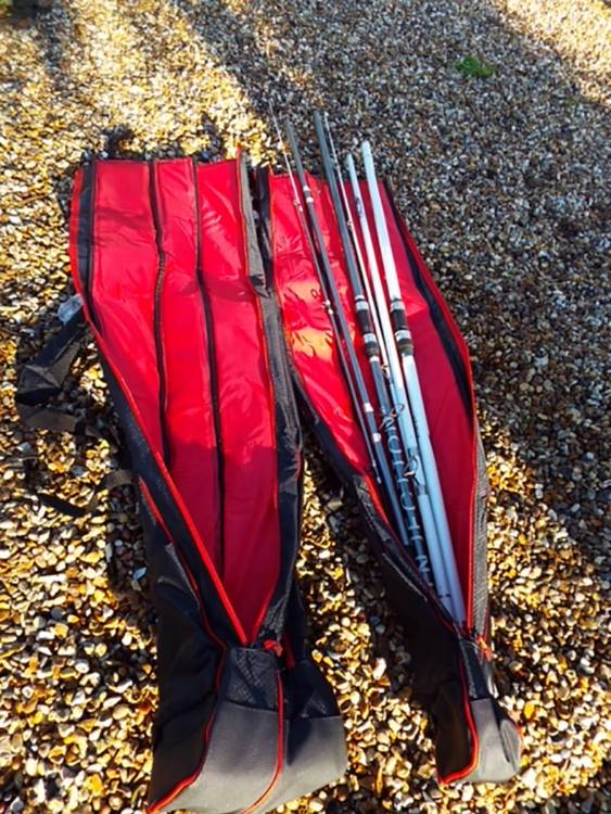 Tronixpro double and single rod quivers
