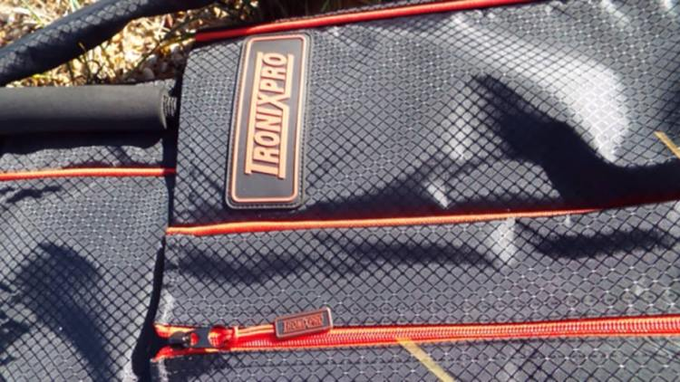 Tronixpro double rod quiver logo and zip