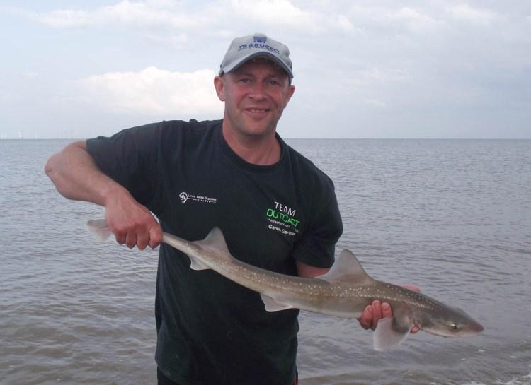 Pairs winner Gareth Gardiner