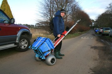 Humpalumpa Big Fishing Trolley fully loaded